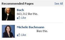 Like Bach and Michele Bachmann