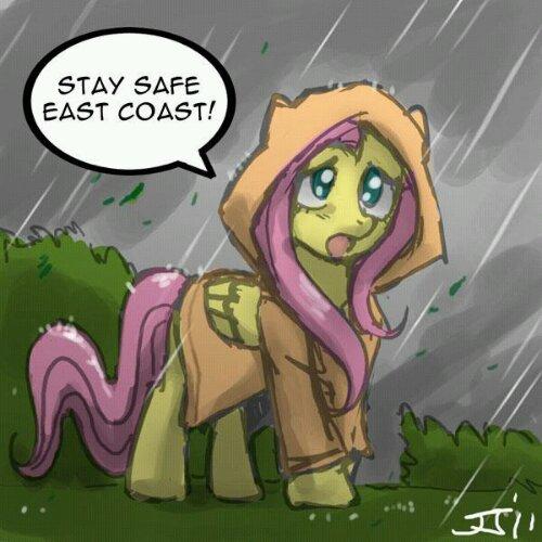 Stay safe, East Coast!