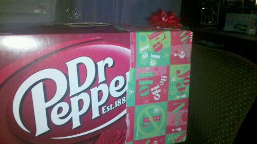 I received Dr Pepper for Christmas last year