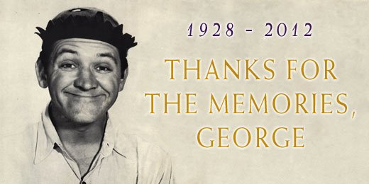 celebrated actor and entertainer George Lindsey passed away at age 83