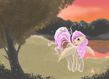 Fluttershy by SagebrushPony on deviantART