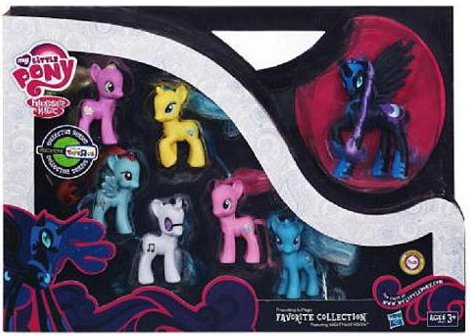 My Little Pony Collector Series Favorites Collection