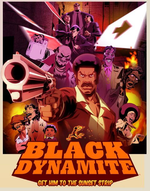 Black Dynamite on Adult Swim