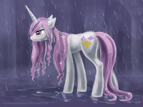Fleur In The Rain