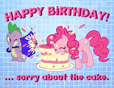 Happy Birthday from Pinkie Pie
