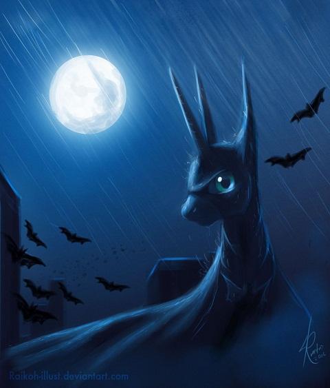 Luna as the Batman, The Dark Mare Rises