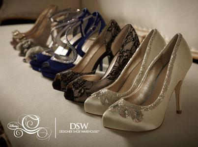 DSW has The Glass Slipper Collection, to market Disney Princess-styled extravagance