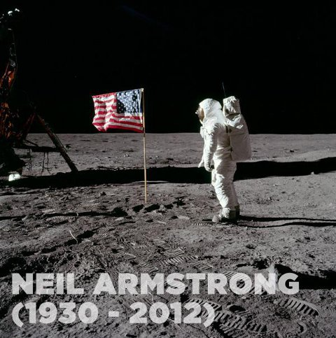 "Mr. Armstrong was a quiet self-described nerdy engineer who became a global hero when as a steely-nerved pilot he made ""one giant leap for mankind"" with a small step on to the moon"