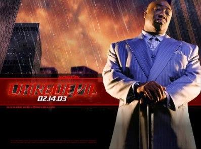 Daredevil (2003), directed by Mark Steven Johnson with Ben Affleck, Jennifer Garner, Colin Farrell, Michael Clarke Duncan