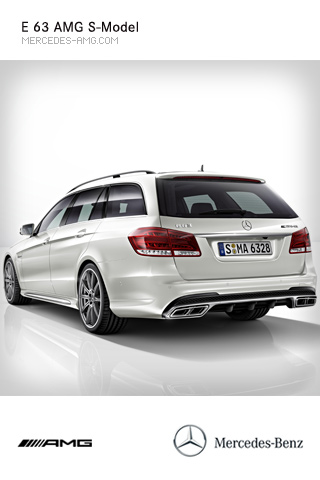 The Rewritten E 63 AMG S-Model