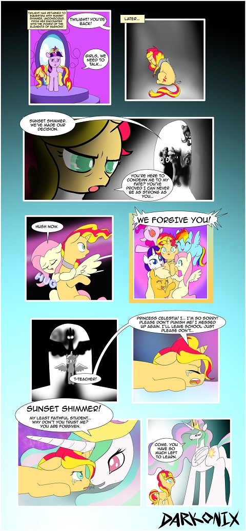 redemption thing at the end of Equestria Girls would have been something like this