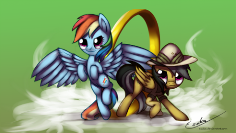 Daring Do punched out a panther