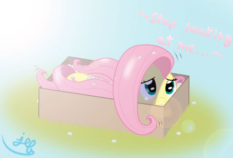 This is Fluttershy, just being best pony