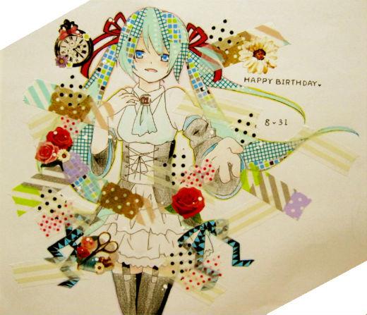 Happy Seventh Birthday to Hatsune Miku