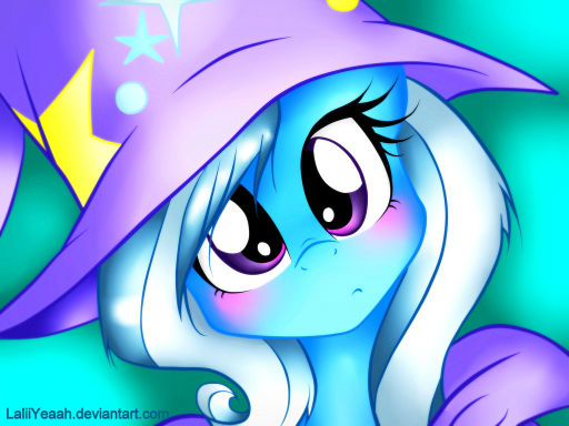 The Great and Powerful Trixie can see you...