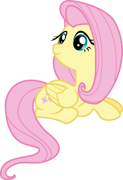 First Fluttershy vector in my gallery