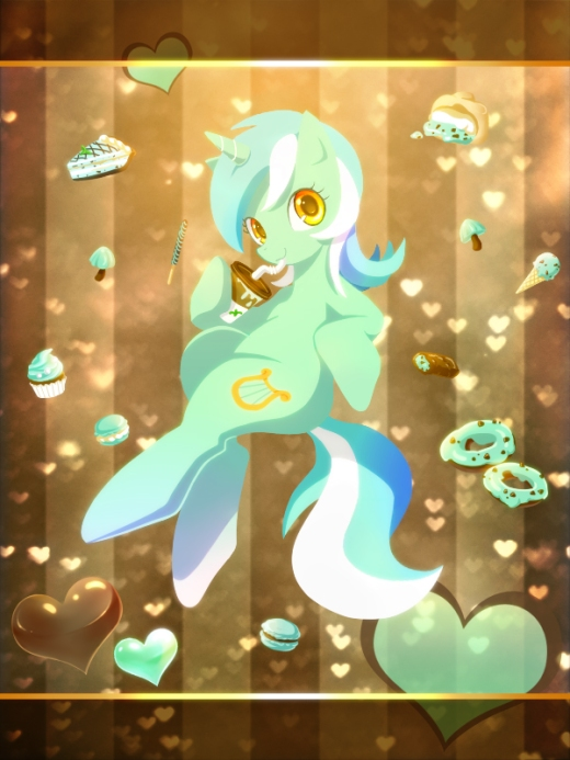 Chocolate Mint Lyra