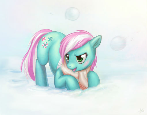 This time an official MLP pony, Minty