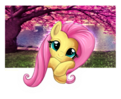 Well, even though it was Pinkie Pie's episode today, it's been a while since I drew little Fluttershy, and I'm not in the mood to draw Pinkie