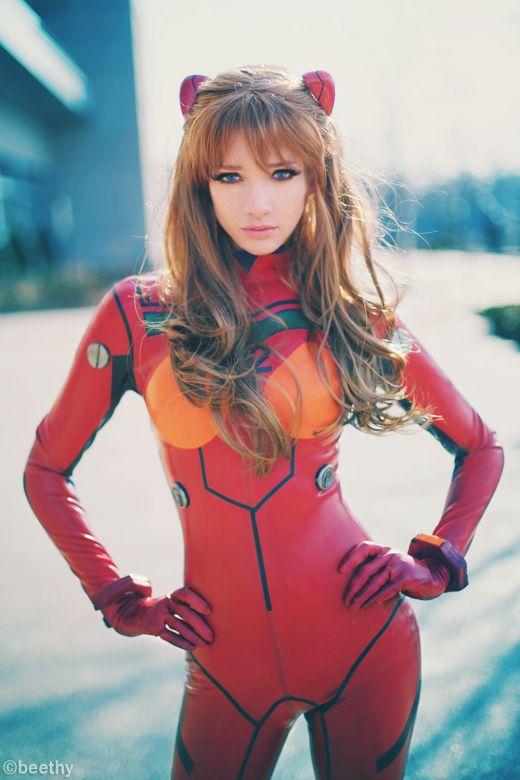 Lyz Brickley Cosplays Neon Genesis Evangelion