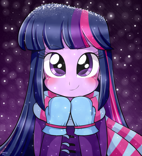 Cute Girl Twilight Sparkle
