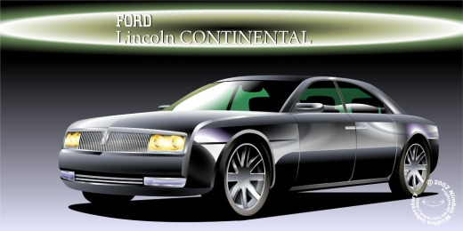Old Lincoln Continental and I liked ...