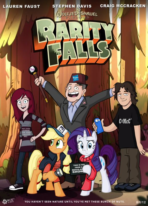 A friend of mine is into Gravity Falls lately after passing Adventure Time and My Little Pony