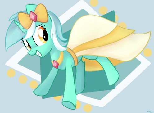 Lyra has a Gala Dress