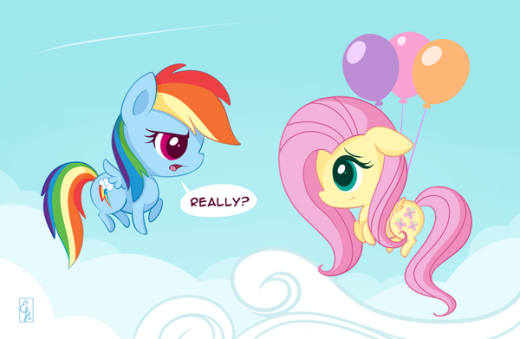 Oh Fluttershy ...Really?