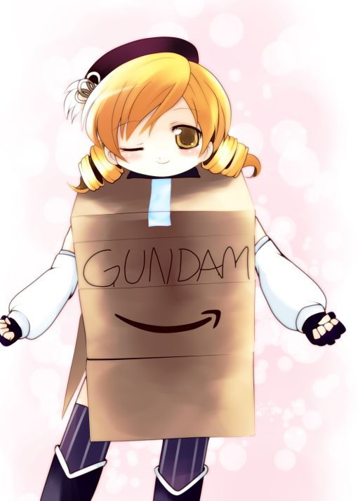 The Japanese really love that cardboard box Gundam guy, and there's a ton of fanart for it.