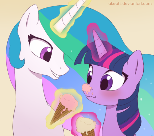 Partly an accident and partly Celestia being playful, really