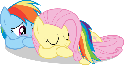Adorable Sleeping FlutterDashie