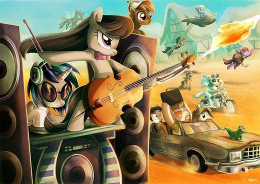 Mad Pony Friendship Road