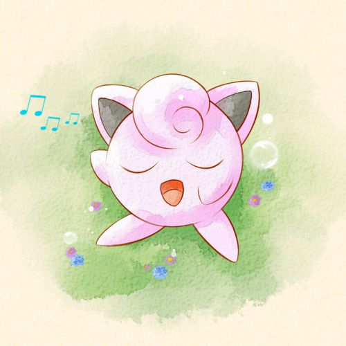 Jigglypuff is a dual-type Normal-Fairy Pokémon