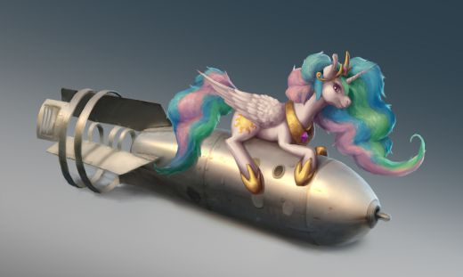 The bomb is based on model RDS-3, Colored a sketch by KaspianMonster