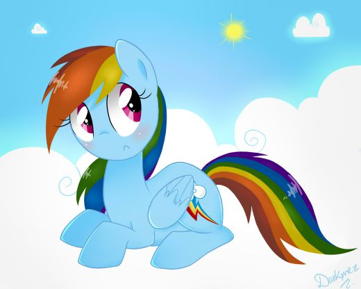And we'll all float on, Dashie