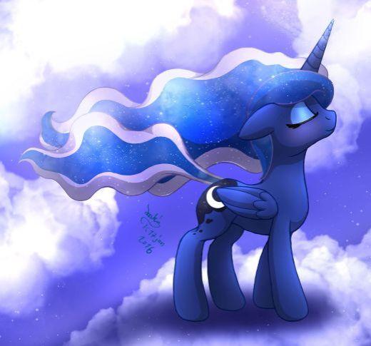Princess Luna Wind Blow