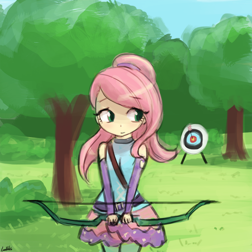 interchangeable - archer Fluttershy