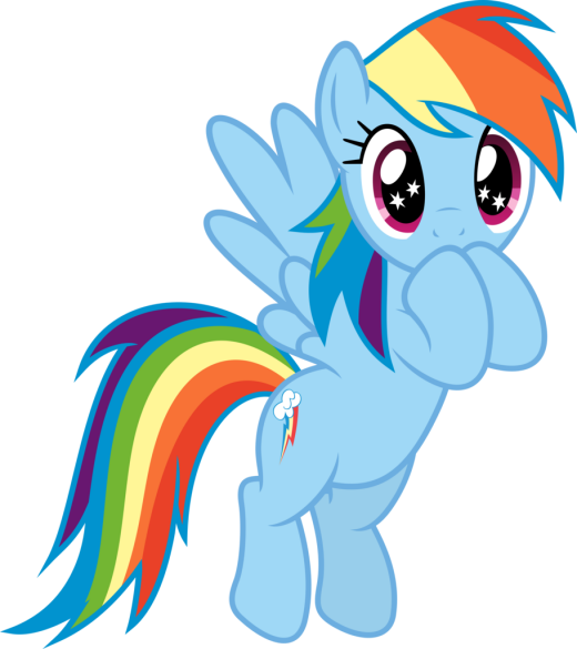 Speechless Rainbow Dash