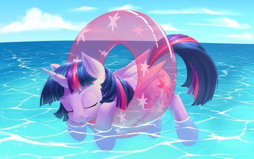 Chillin' Princess Twilight Sparkle