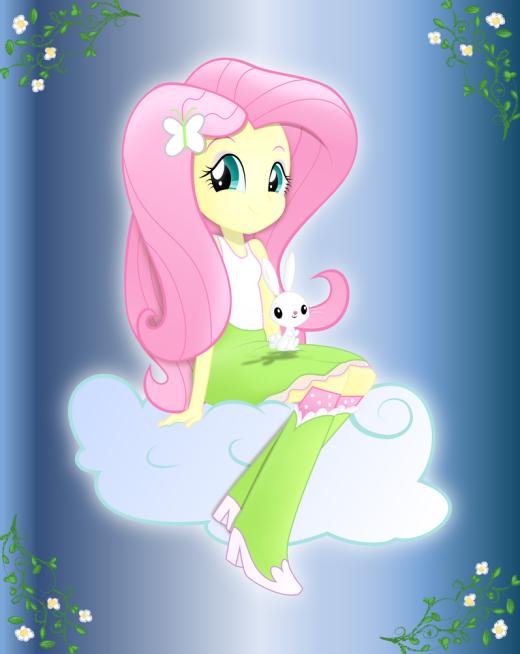 Equestria Girls - Fluttershy