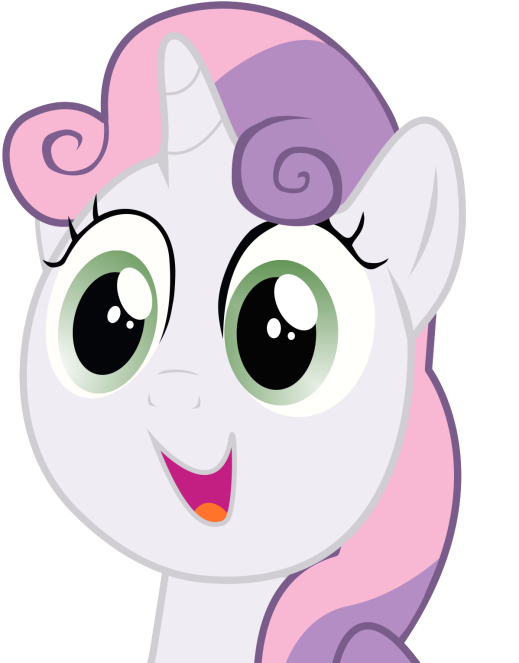 sweetie-belle-happy-face-vector