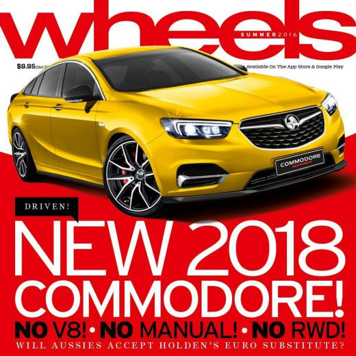 The new, but sad Holden Commodore