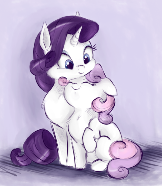 Yes, I love my sister Rarity