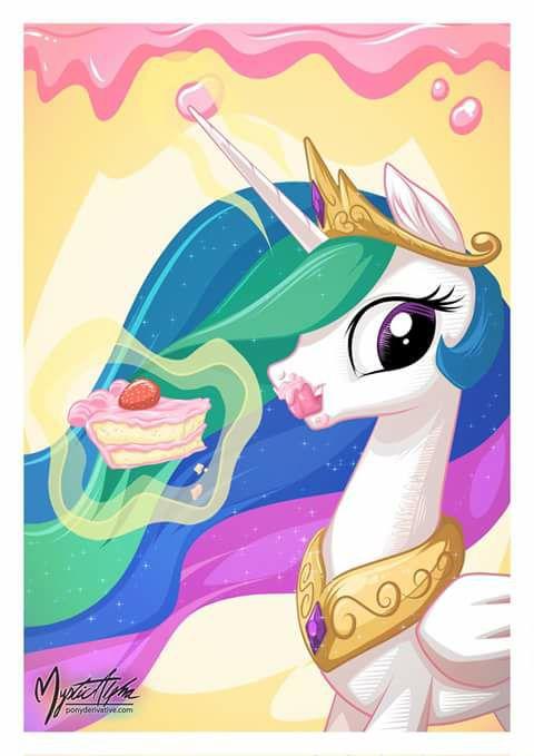 Sweet Celestia's Cake!