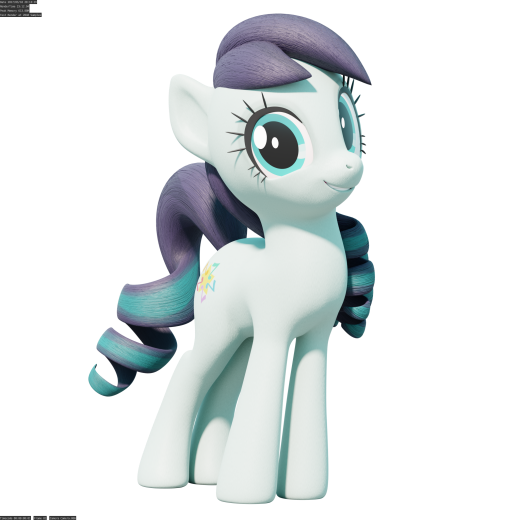 Coloratura Pose Test Render