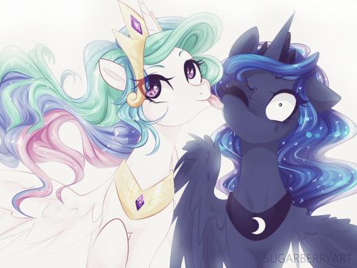 Those wacky Princesses of Equestria