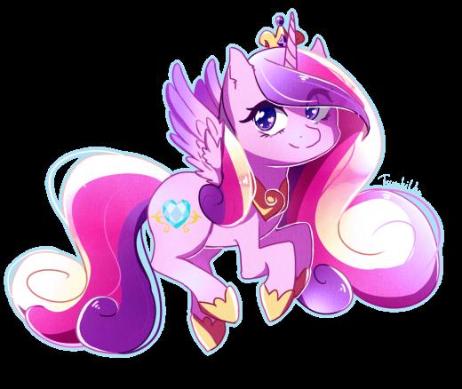 Chibi Princess Cadence