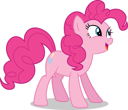 Pinkie Pie Joyful Face