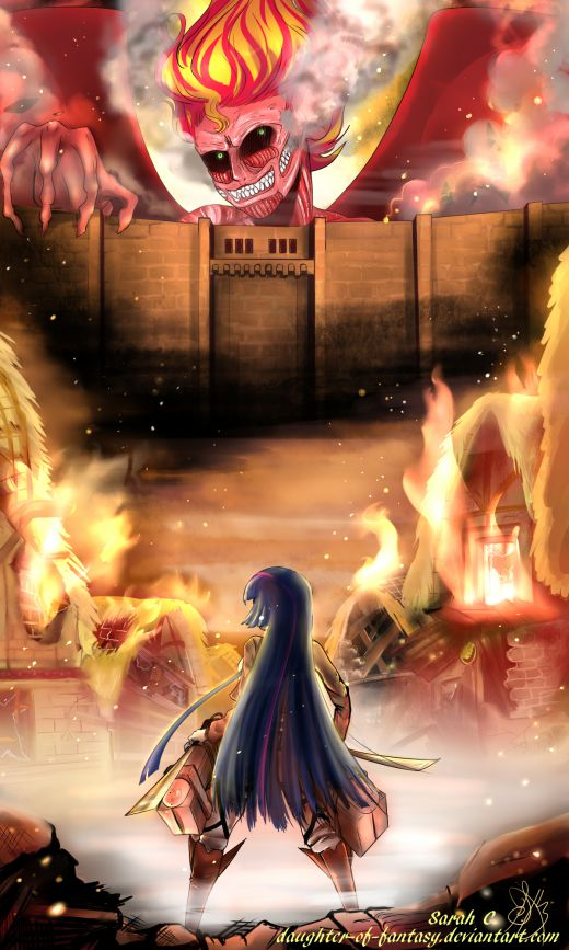 Attack on Sunset by Daughter of Fantasy